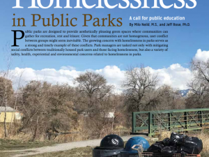 What does Ecological Planning have to do with Homelessness?